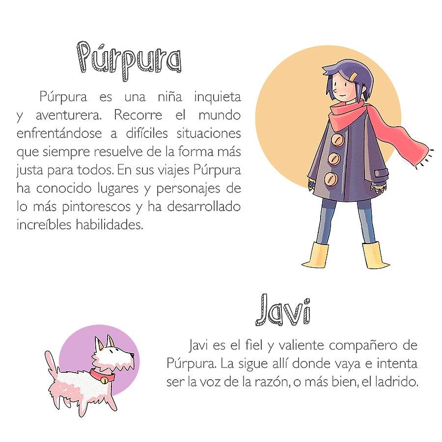 Púrpura y Javi